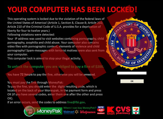 How I Removed The FBI MoneyPak Virus (Again)!